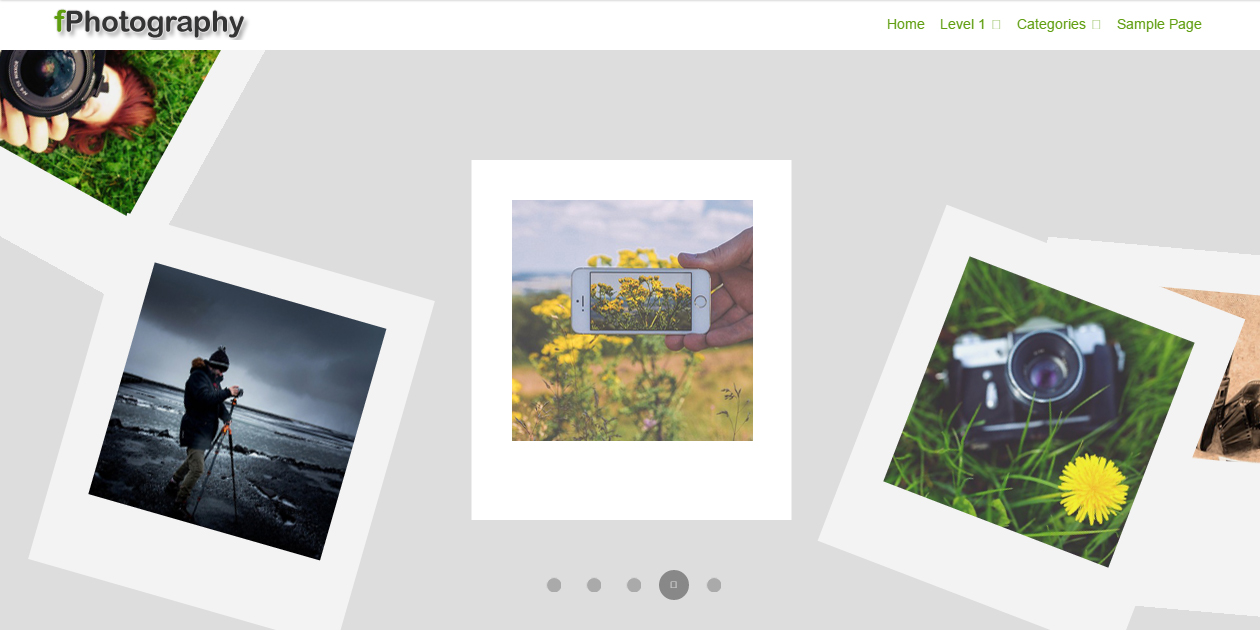 fPhotography - Photography Portfolio WordPress Themes