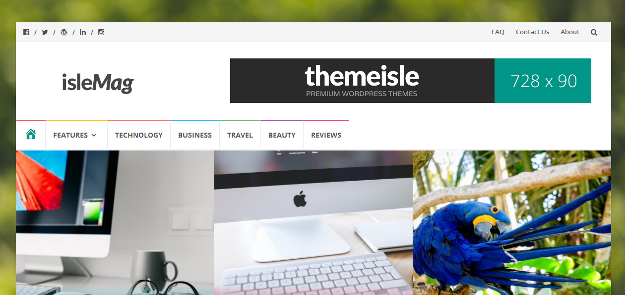 islemag - Photography Portfolio WordPress Themes