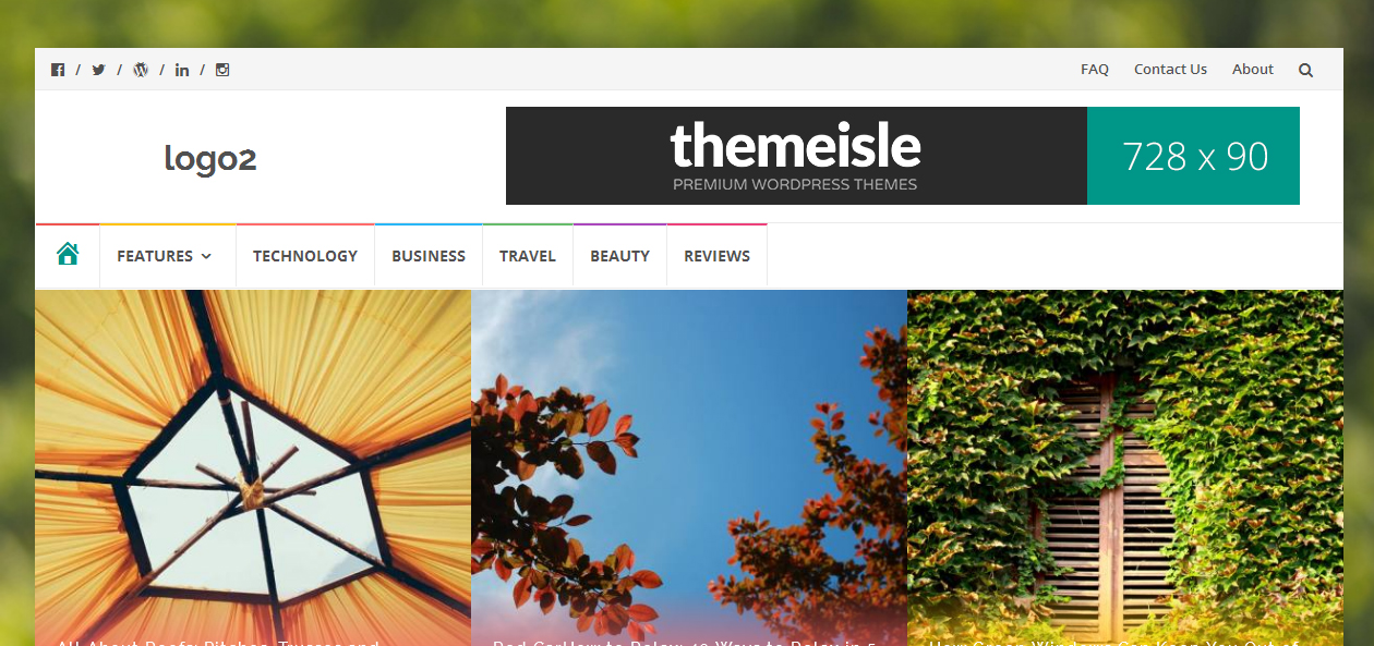 islemag - Bootstrap WordPress Themes