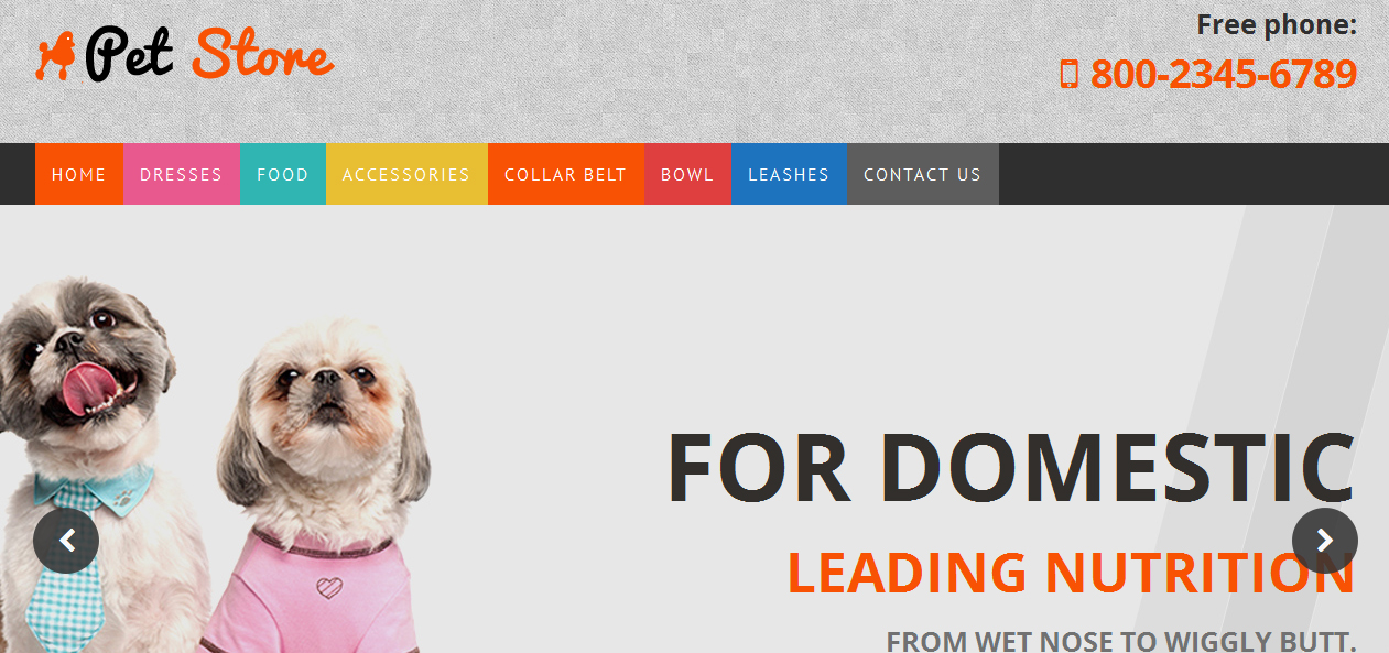 Pet Store - Best Pet WordPress Themes