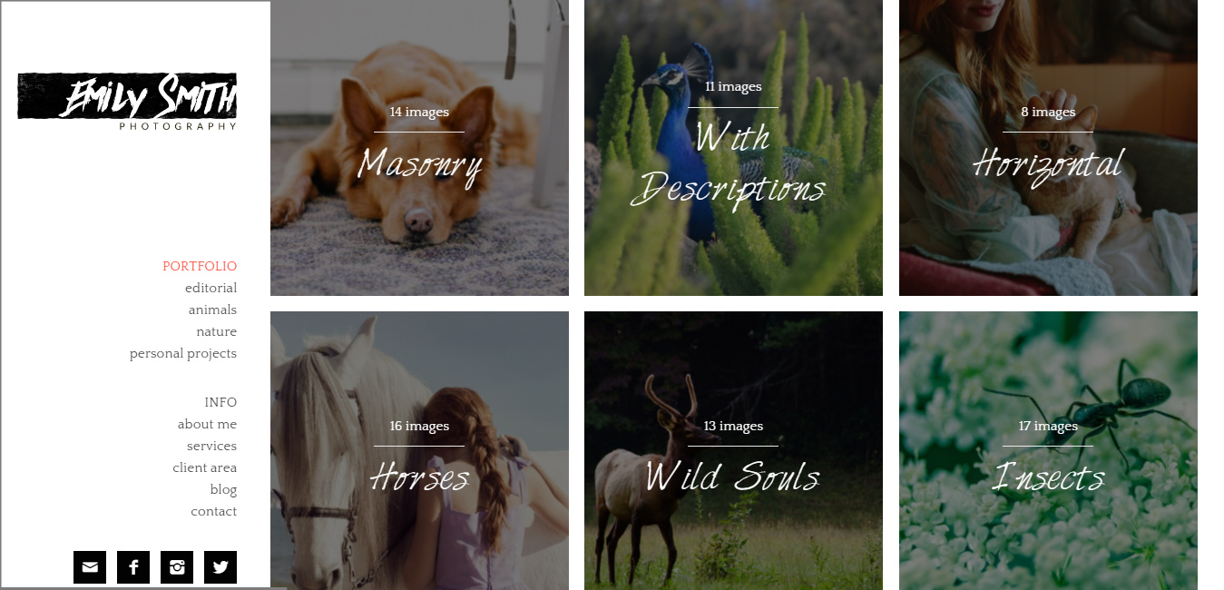 Emily - WordPress Themes For Wallpapers Website