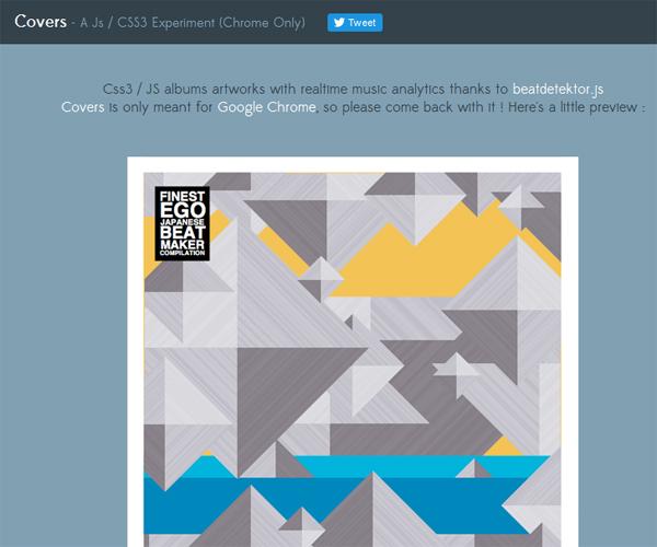 Interactive Album Covers