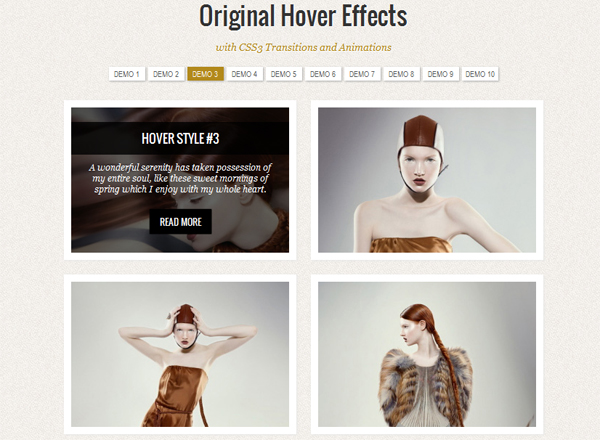 Original Hover Effects