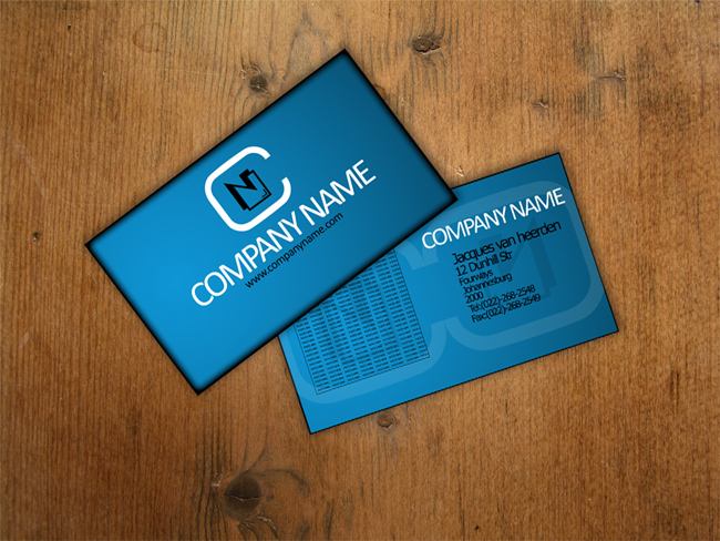 Business Card Template for Free Download