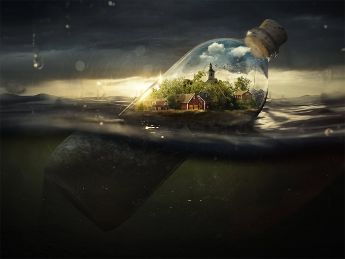 House In A Bottle