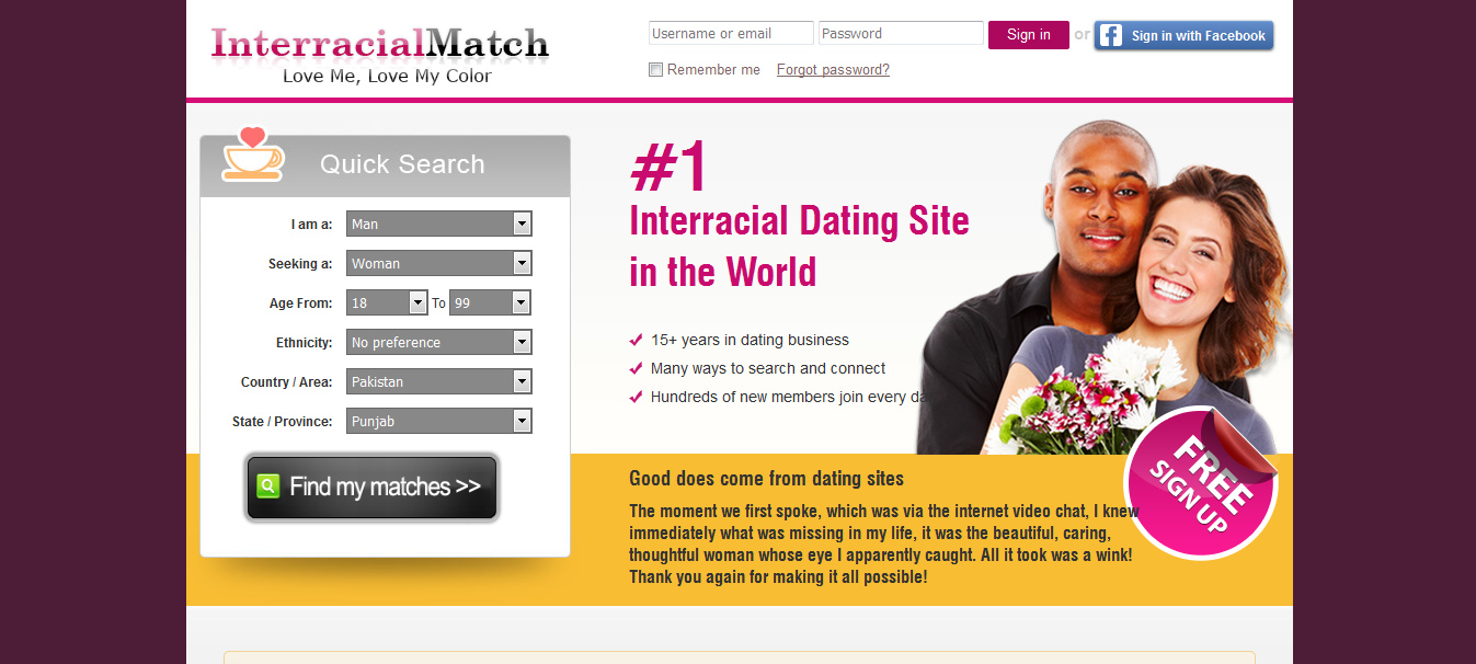 show me all free dating sites Why join there's tons of singles we're one of the biggest dating sites on earth, and it's all totally free no fakes we strictly monitor who uses our site, and you can easily block people who you don't want to talk to.